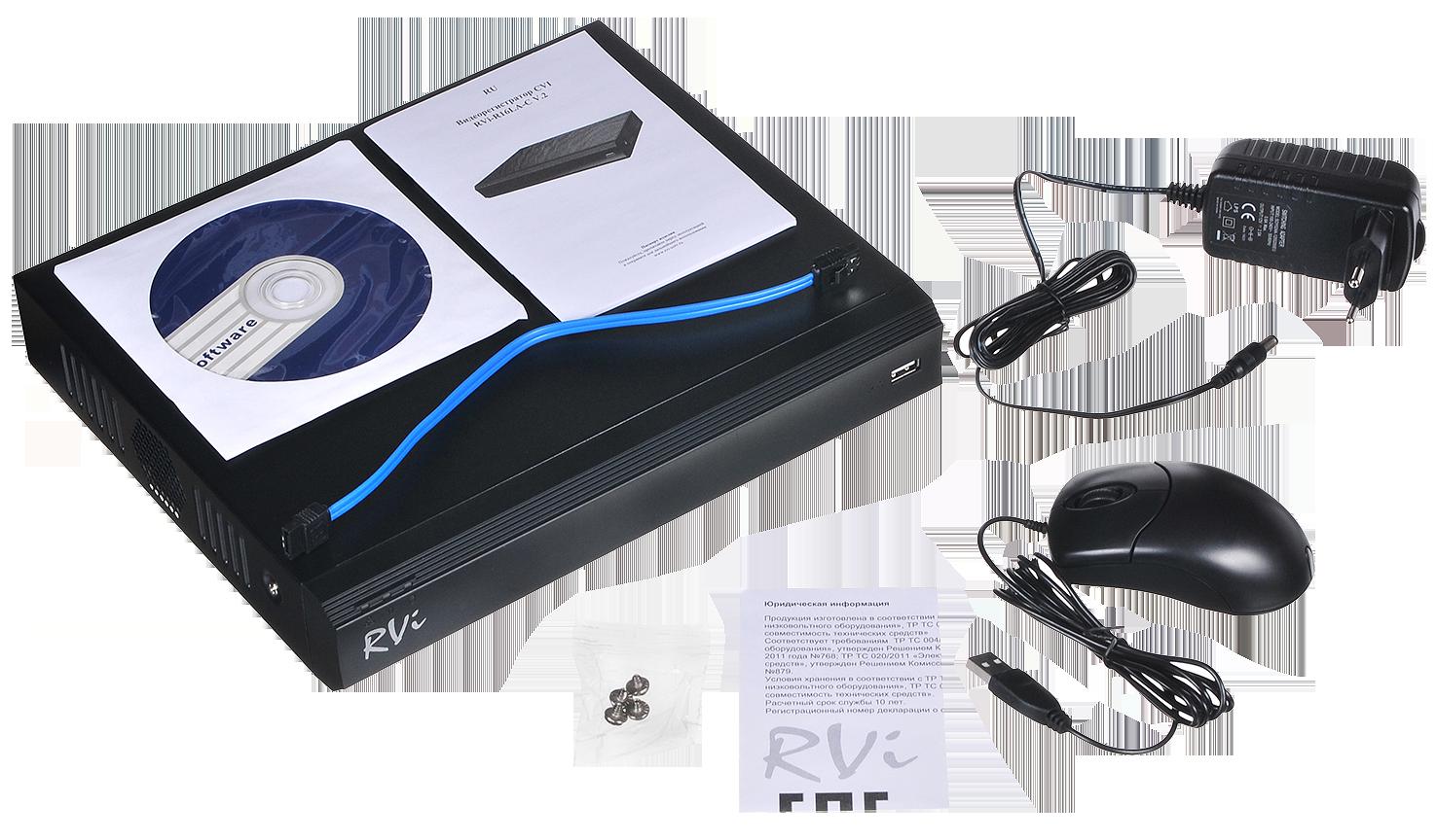 Видеорегистратор RVi RVi-HDR16LB-C V.2
