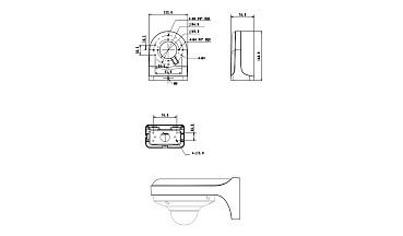 Настенный кронштейн RVi-BW4