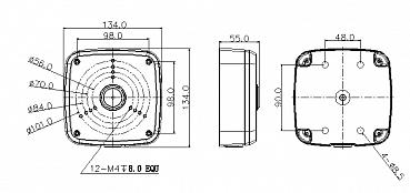 Монтажная коробка RVi-MB3