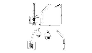 Парапетный кронштейн RVi-BPA1